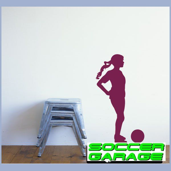 Soccer Graphic Wall Decal - model SoccerST154