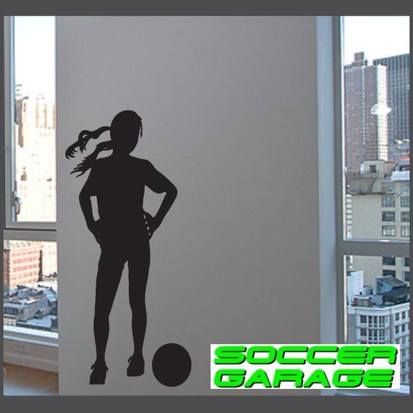 Soccer Graphic Wall Decal - model SoccerST156