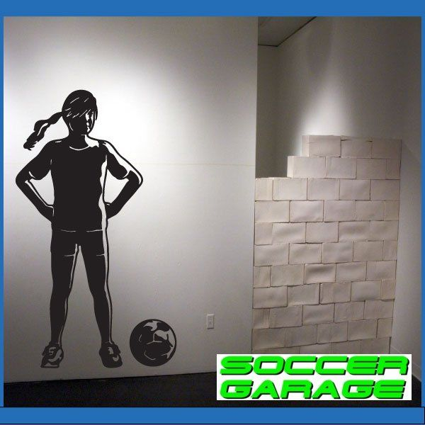Soccer Graphic Wall Decal - model SoccerST163