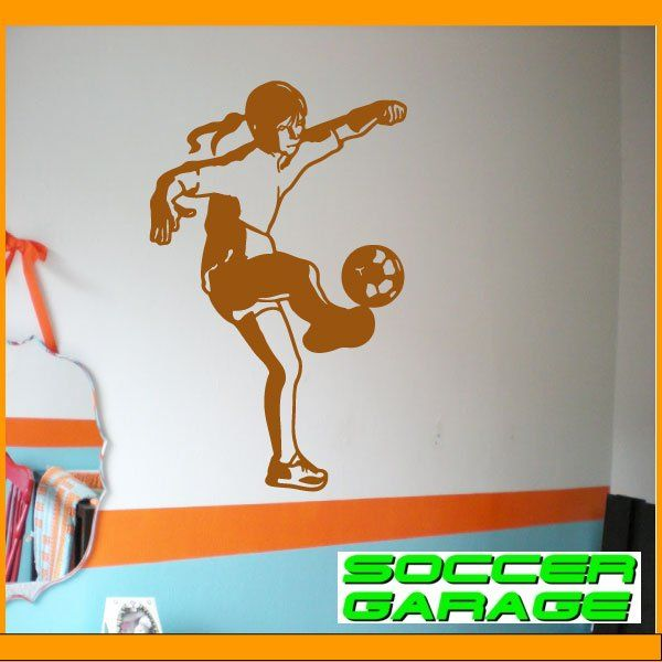 Soccer Graphic Wall Decal - model SoccerST165