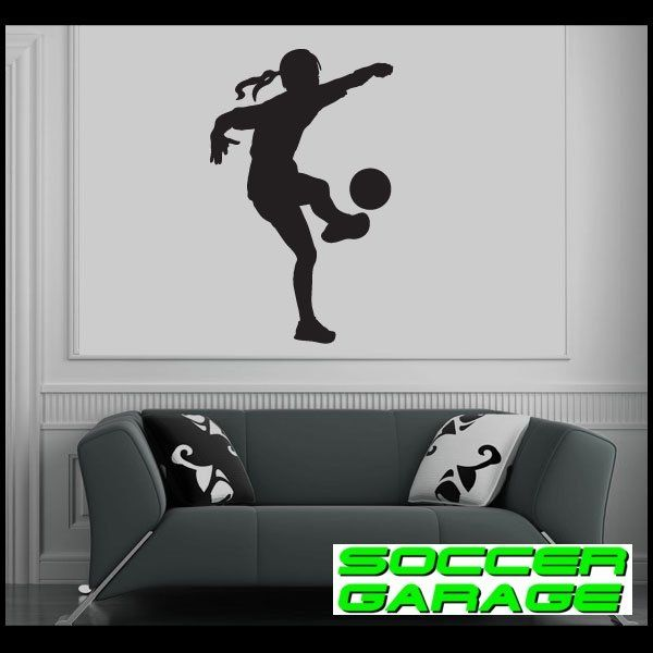 Soccer Graphic Wall Decal - model SoccerST166