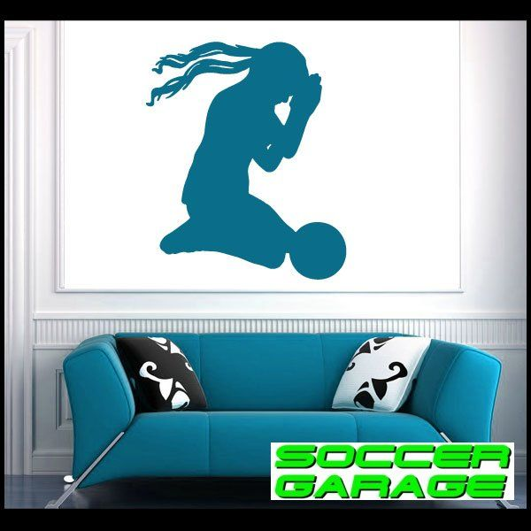 Soccer Graphic Wall Decal - model SoccerST168