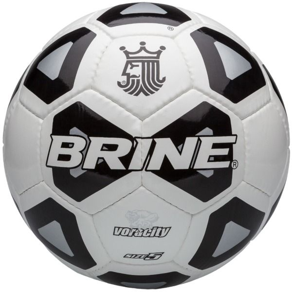 Brine Voracity Black Soccer Ball - model SBVOR-BK