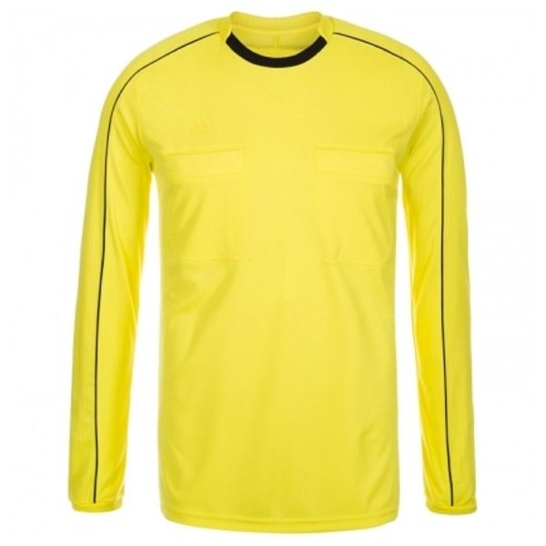 adidas Referee 16 Long Sleeve Yellow Jersey - model AH9803