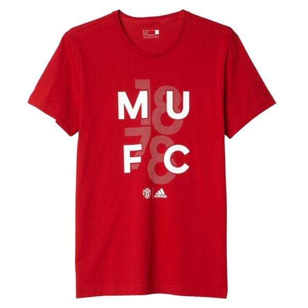 adidas Manchester United FC Red Goalkeeper T-Shirt - model AP1802