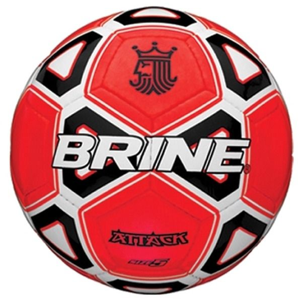 Brine Attack Red Soccer Ball - model SBATTK4-RWB