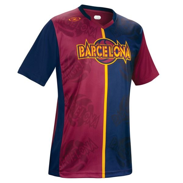 Xara Barcelona Champions II Soccer Jersey - model 1041BAR