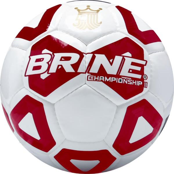 Brine Championship II Red Soccer Ball - model SBCHMP7-SCA