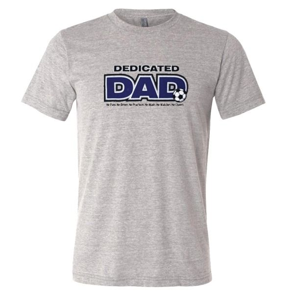 Dedicated Dad T-Shirt - model 12180