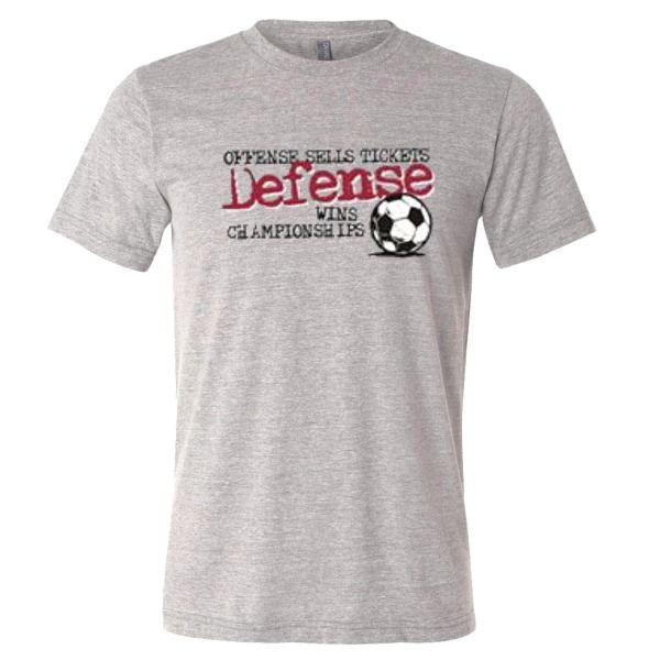 Defense Wins Soccer T-Shirt - model 12304