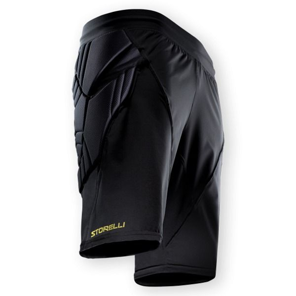 Storelli Exoshield Goalkeeper Shorts - model EXGKSHORTBK