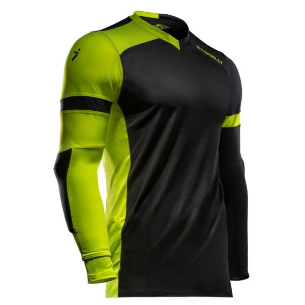 Storelli Exoshield Gladiator Black/Strike Goalkeeper Jersey - model EXGKJBKSTK