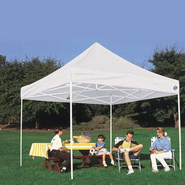E-Z UP Enterprise II 10'x10' Shelter - model EP3STL10KFWHT