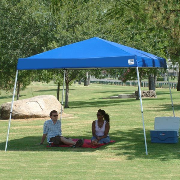 E-Z UP Vista II 10'x10' Canopy Shelter - model VS2910BL