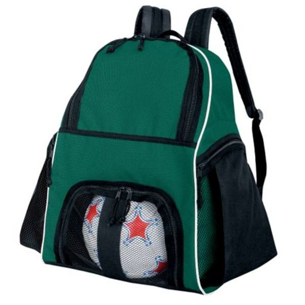High Five Forest Green Soccer Backpack - model 27850G