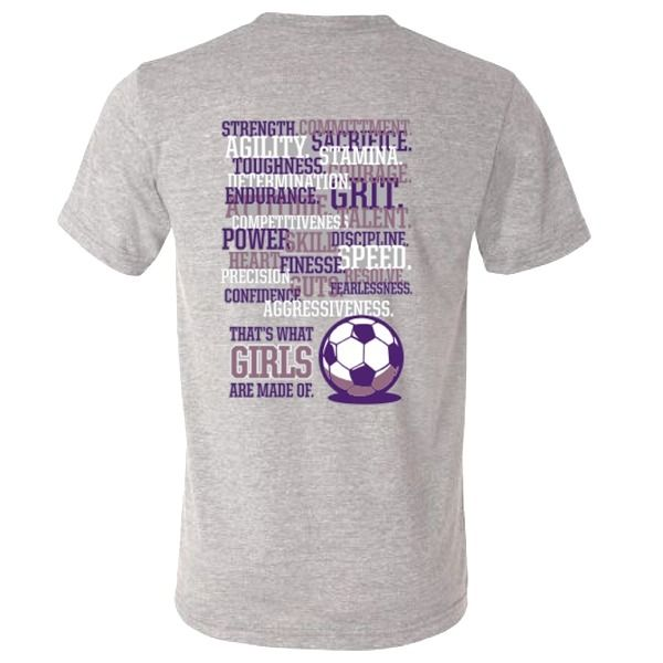 Girls Are Made Soccer T-Shirt - model 12332