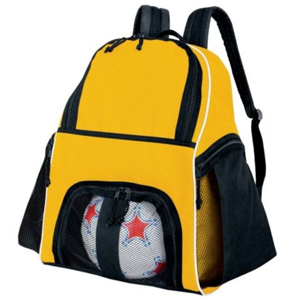 High Five Gold Yellow Soccer Backpack - model 27850Y
