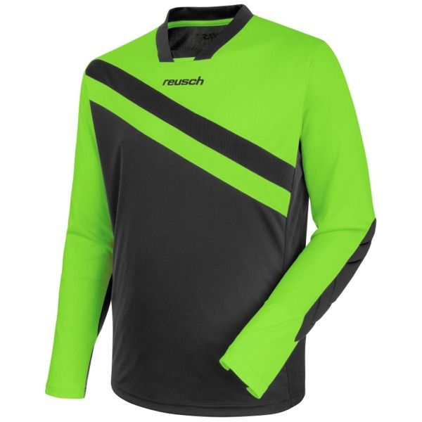 Reusch Golhero Green Gecko/Cool Gray Soccer Goalkeeper Jersey - model 3711300-667