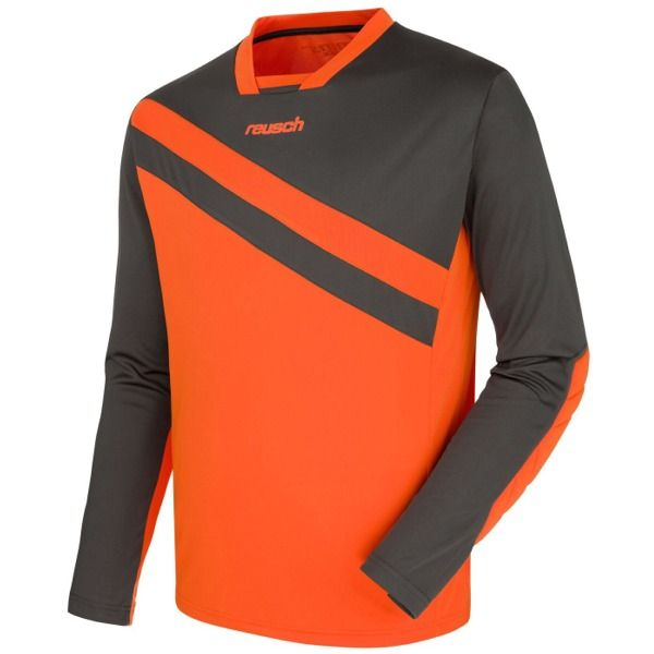 Reusch Golhero Cool Gray/Shocking Orange Soccer Goalkeeper Jersey - model 3711300-201