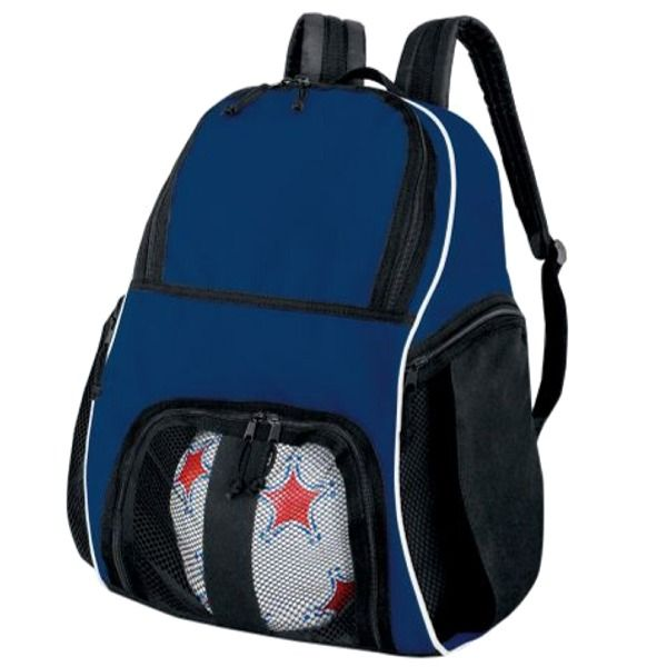 High Five Navy Soccer Backpack - model 27850N