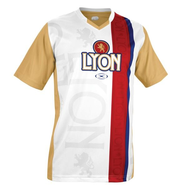 Xara Olympique Lyon Champions II Soccer Jersey - model 1041LYO