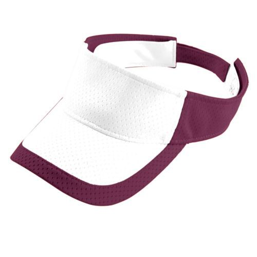 Color Block Athletic Mesh Visor - model 6248c