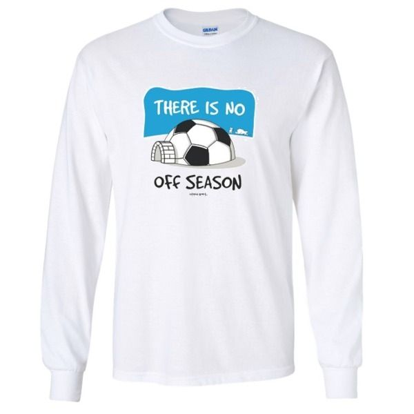 There Is No Off Season Long Sleeve T-Shirt - model 12151L