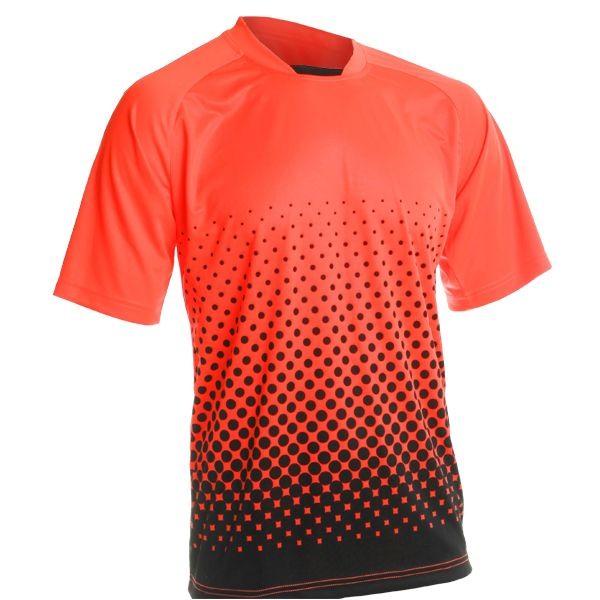 Vizari Ventura Neon Orange Short Sleeve Goalkeeper Jersey - model 60016