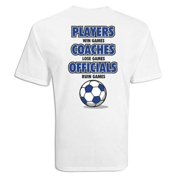 Players Win Games Soccer T-Shirt - model 12269
