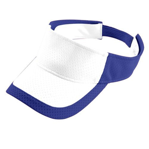 Color Block Athletic Mesh Visor - model 6248f