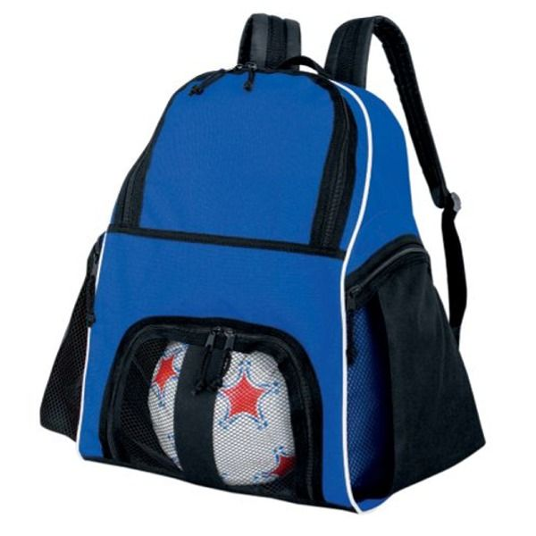 High Five Royal Blue Soccer Backpack - model 27850RB