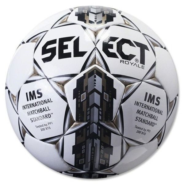 Select Royale Black Soccer Ball - model 0125466908
