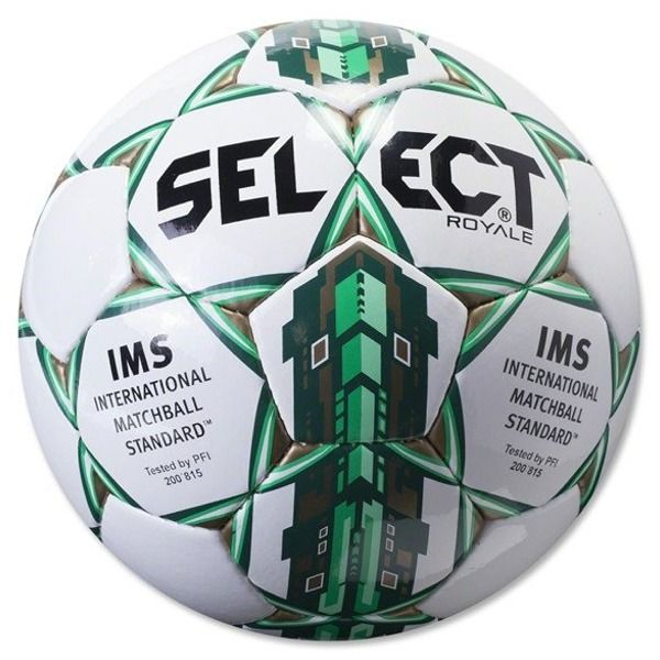 Select Royale Green Soccer Ball - model 0125466902