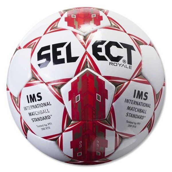 Select Royale Red Soccer Ball - model 0125466907