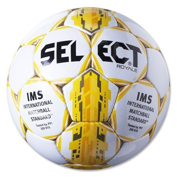 Select Royale Yellow Soccer Ball - model 0125466905