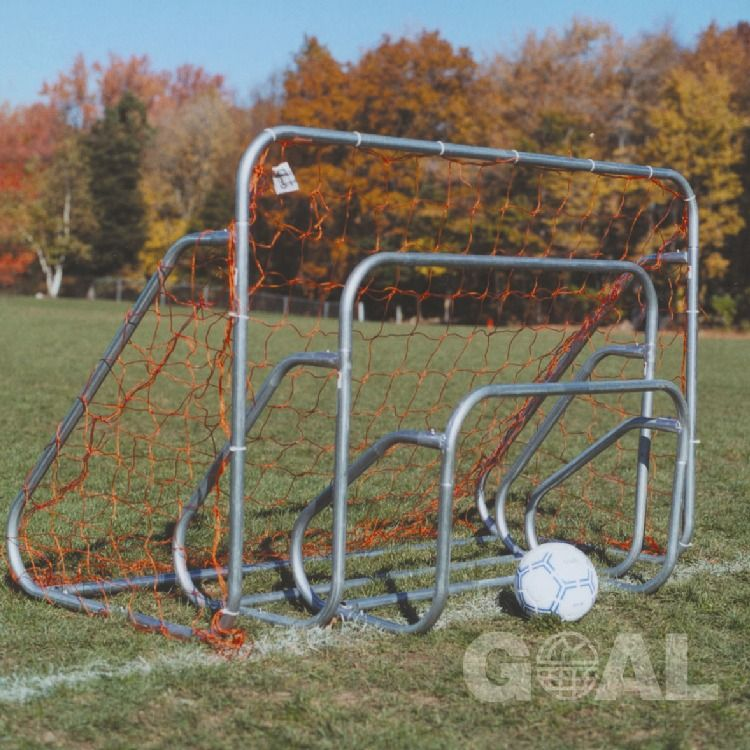 Goal Sporting Goods 6x6 Small Sided steel Soccer Goal with Ground Bar - model SBG66GB
