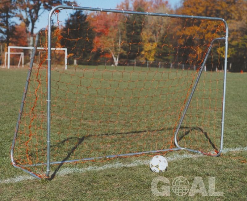 Goal Sporting Goods 6x8 Small Sided Steel Soccer Goal w/ Ground Bar - model SBG68GB