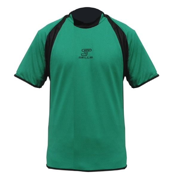 Sells Contour Green/Black Goalkeeper Jersey - model SGP7076G