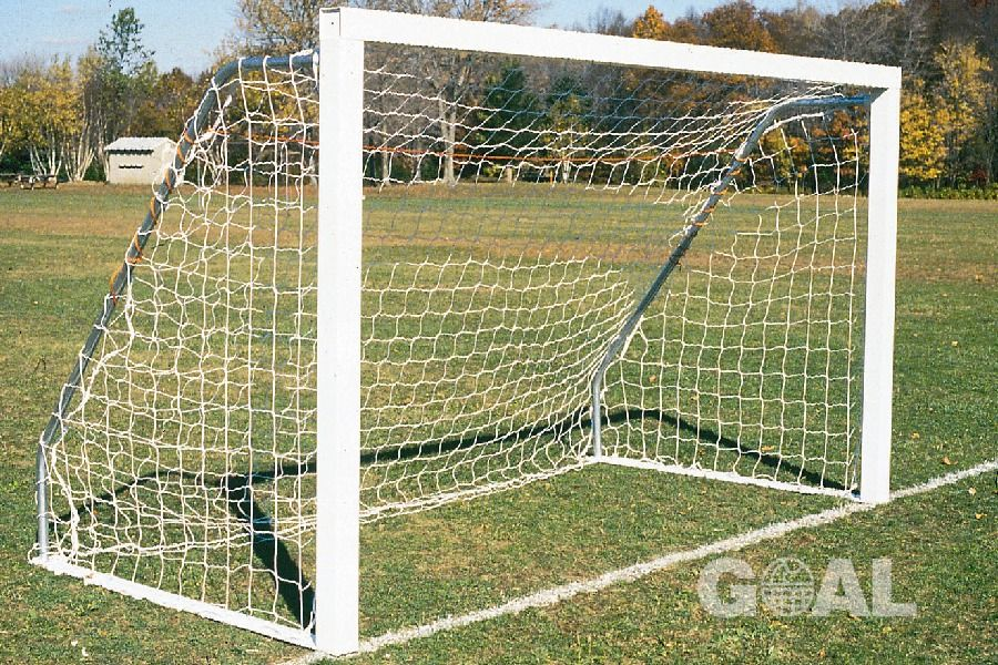 Goal Sporting Goods Indoor/Outdoor 8x24 Round Soccer Goals - model SIG824RPP