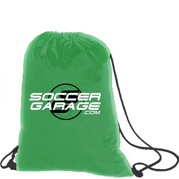 Soccer Garage Green Soccer Nap Sack - model SGNS06