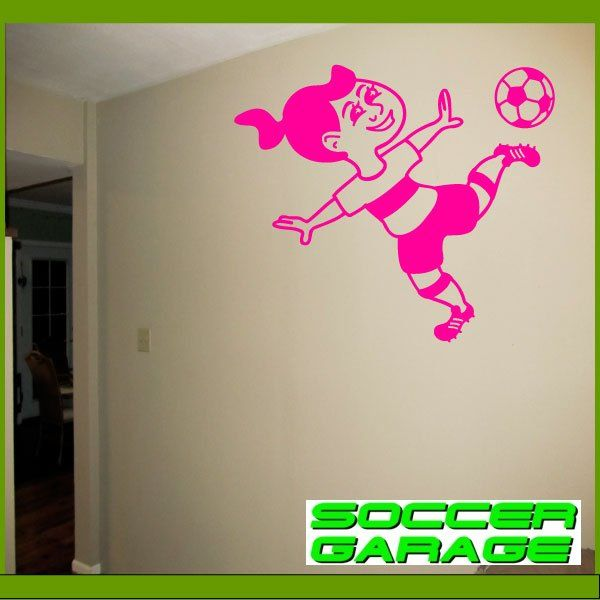 Soccer Graphic Wall Decal - model SoccerMC001