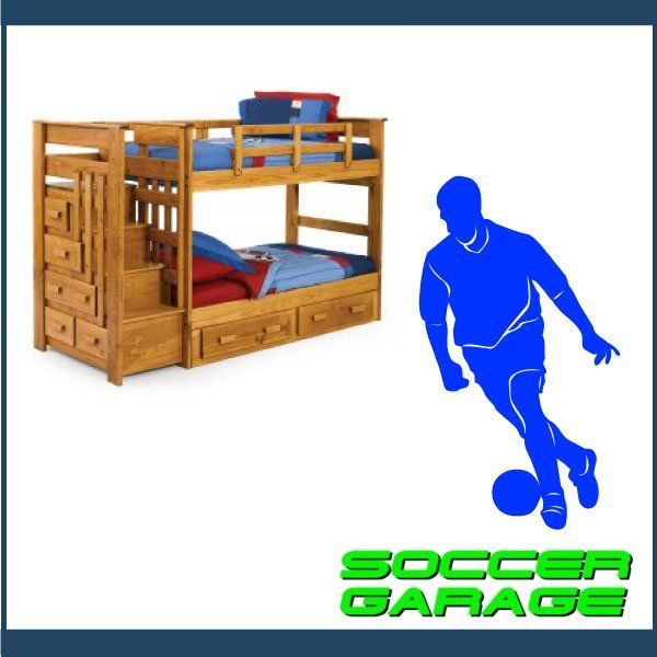 Soccer Graphic Wall Decal - model SoccerMC003
