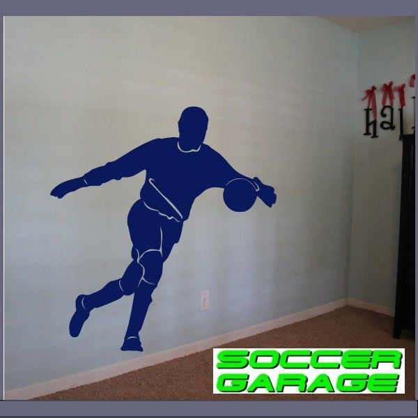 Soccer Graphic Wall Decal - model SoccerMC004