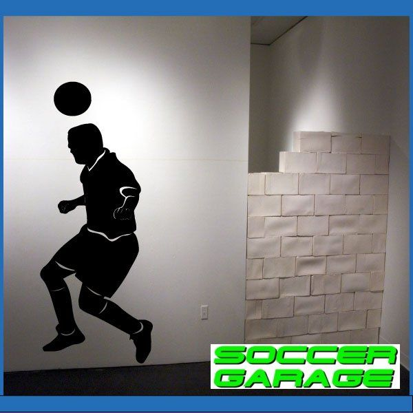 Soccer Graphic Wall Decal - model SoccerMC005