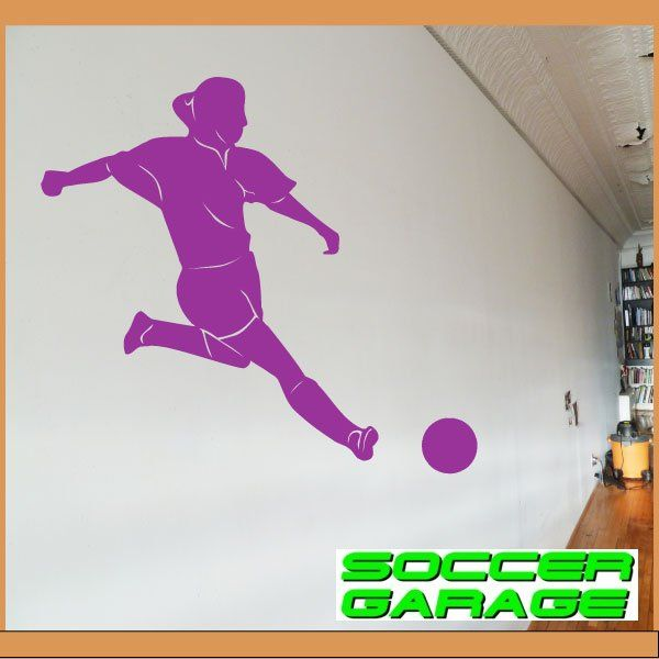 Soccer Graphic Wall Decal - model SoccerMC006