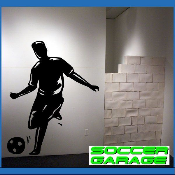Soccer Graphic Wall Decal - model SoccerMC008