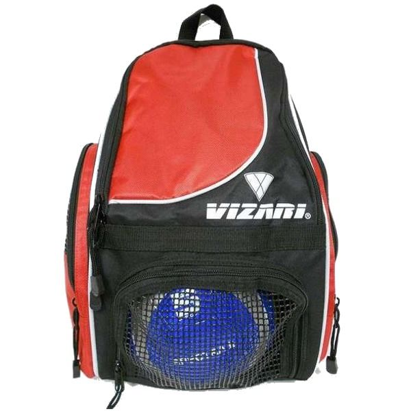 Vizari Solano Red Soccer Backpack - model 30143