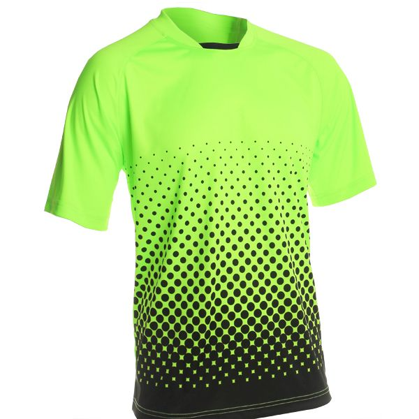 Vizari Ventura Neon Green Short Sleeve Goalkeeper Jersey - model 60015