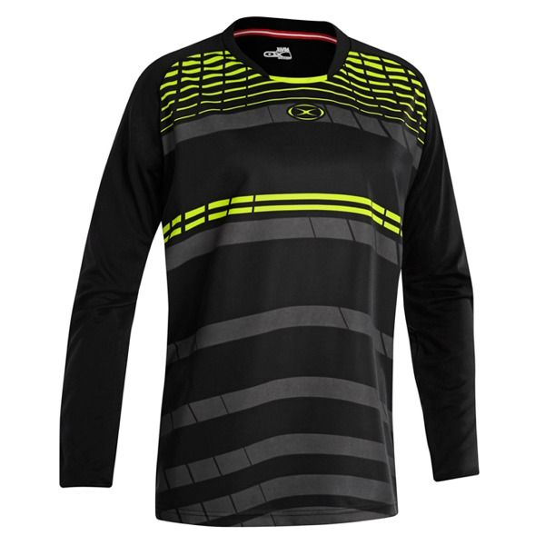 Xara Aggressor Black/Neon Goalkeeper Jersey - model 5078
