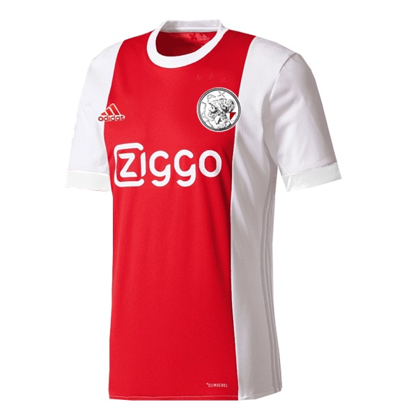 adidas Ajax Amsterdam 2021-22 Official Home Soccer Jersey - model ...